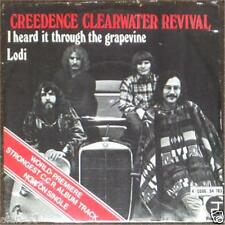"CREEDENCE CLEARWATER REVIVAL I Heard It Through The Grapevine ~  7"" 45rpm SINGLE"