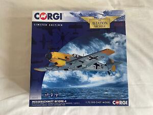 Corgi Messerschmitt 109E Aviation Archive Marseille 1:72