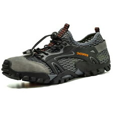 Men Low top Mountain Outdoor Casual Shoes Lace up Slip Resistant Sports Athletic