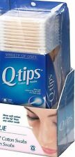 Q tips Cotton Swabs Club Pack 625 ct Pack of 1 Cleaning Tool Cosmetic Stick New