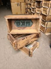 Vintage Brick Moulds