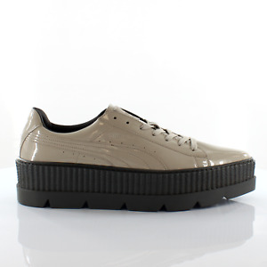 Puma Fenty by Rihanna Pointy Creeper Patent Lace Up Mens Trainers 366269 02