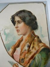 More details for postcard p8h47  tuck  chromolithograph italian beauty  chianti ? wine ? italy