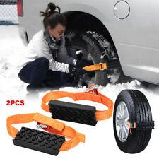 Rubber Nylon Snow Chain Saloon Car Wheel Tire Emergency Anti Skid Strap Tie Belt