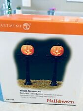 Dept 56 Village Accessories   Halloween Street Lamps     NIB
