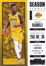 JULIUS RANDLE 2017-18 PANINI CONTENDERS Basketball cartes à collectionner, #42