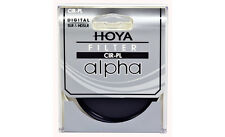 Hoya 58mm ALPHA Circular Polarizer CPL CRPL Cir-PL Glass Filter - Brand New