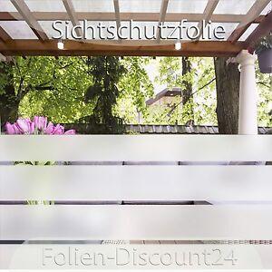 8,18 €/m²) Sichtschutzfolie 1mx22cm Fensterfolie Sonnenschutz TiP!