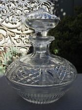 STUNNING VINTAGE WEBB CUT CRYSTAL PERFUME DECANTER BOTTLE