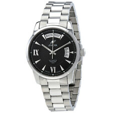 Enicar Ultrasonic Black Dial Automatic Mens Watch 169-50-338AB