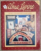 Alma Lynne Designs Counted Cross Stitch Booklet ALX-66 Star Spangled Country