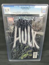 Incredible Hulk #68 (2004) Bruce Jones Story CGC 9.8 White Pages E350