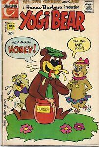 Yogi Bear #10 | March 1972 | Charlton Comics