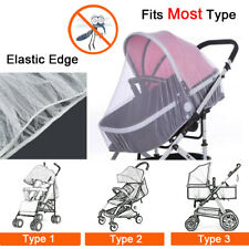 Universal Baby Stroller Pushchair Buggy Pram Mosquito Fly Insect Net Mesh Cover