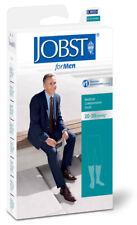 NEW Jobst For Men Mens Knee High Closed Toe 20-30 mmHg Compression Socks Hosiery