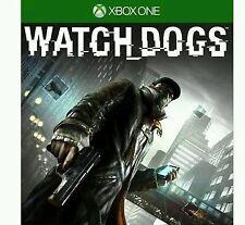 jeux xbox one WATCH_DOGS neuf sous blister super jeu d'espionnage et a la gta