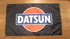DATSUN BLACK FLAG BANNER 3X5FT 240Z 510 FAIRLADY Z 280Z