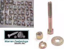 Grade 8 FINE Zinc Yellow Bolt, Nut and Washer Assortment Kit 1500 PIECES