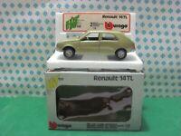 Vintage  -  RENAULT 14 TL  - 1/24 Bburago Art. 0139 - MIB