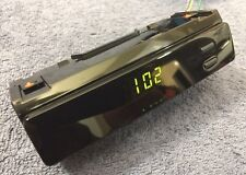 Toyota OEM Central Dash Panel Digital Clock Assembly fits Corolla (Clean Look)