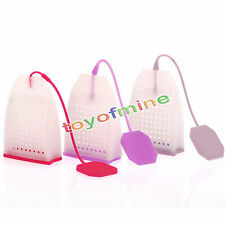 Silicone Mesh Spice Herbal Sac à Thé Feuille Infuser Filtre Filtre Diffuseur `