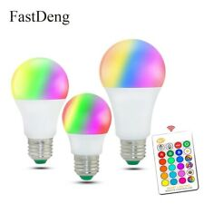 LED Colorful Changing Light Bulb Dimmable Bulbs with Remote Control