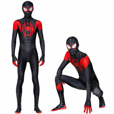 Spider-Man Miles Morales Cosplay Costume Jumpsuits Peter Parker Adults Bodysuits