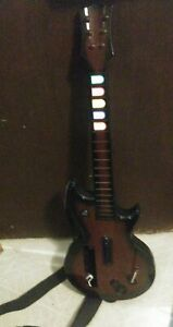 Wireless Guitar For Wii Guitar Hero And Rock Band Games Color Black And Brown