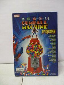 2004 Marvel Spiderman Metal Gumball Machine