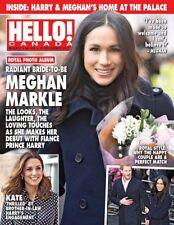 Hello Canada Magazine Exclusive Bride to be Meghan Markle #586 Dec 2017 New