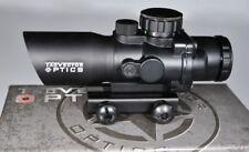 Vector Optics Talos Tactical 4x32 Rifle Scope, Chevron Illuminated Reticule.