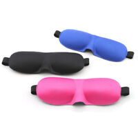 3D Soft Padded Design Eye Sleep Mask Aid Shade Cover Blindfold for Rest Travel
