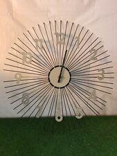 vintage style designer metal wall clock