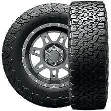4-NEW LT285/70R17 BF Goodrich (BFG) All Terrain T/A KO2 116Q C/6 Ply Tires