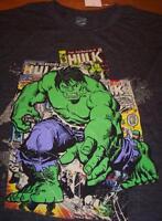 VINTAGE STYLE THE INCREDIBLE HULK T-Shirt MEDIUM NEW Marvel Comics THE AVENGERS