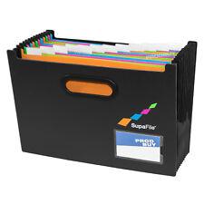 13 Compartment Expanding File Organiser Concertina Desktop Document Bill Folder