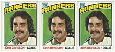 10 1976-77 TOPPS HOCKEY NEW YORK RANGERS CARDS (DAVIDSON+++)