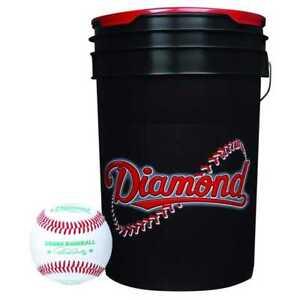 Diamond Sports Baseball & Ball Bucket Combo 30 DOL-1 USSSA Balls