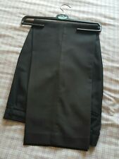 "BOYS / MENS BLACK FORMAL TROUSERS SCHOOL UNIFORM 34"" WAIST 29"" SHORT LEG LENGTH"