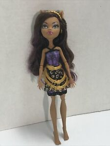 Monster High Clawdeen Wolf :City Of Frights