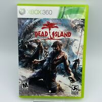 DEAD ISLAND Microsoft XBOX 360 Video Game COMPLETE w/ Manual Cib Clean TESTED