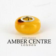Amber Trolls fits all charm bracelets German Baltic Amber 925 Ag RRP£45!!! CHA3