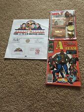 The A-Team Honor Roll Cert/Club Membership/Comic 1