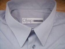 TA325 Olymp  Businesshemd Kombimanschette 41 Hellblau meliert Sehr gut