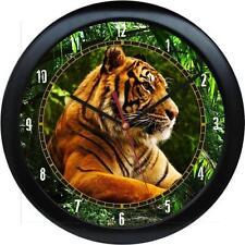 Tiger  Wall Clock Wild Animal Print Zoo Jungle Tiger Gift