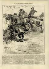 1890 14th Hussars Winning Royal Cambridge Trophy Smart Goodwood Hats