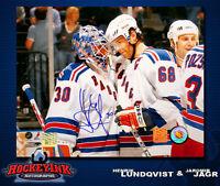 Henrik Lundqvist SIGNED New York Rangers 8 x 10 Photo -70138