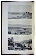 1925 Philby - DEAD SEA TO AQABA - Jordan - ARABIA - Route Map - 8