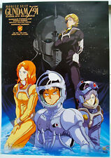 Mobile Suit Gundam F 91 Vintage Japan Poster Original Vintage Mint