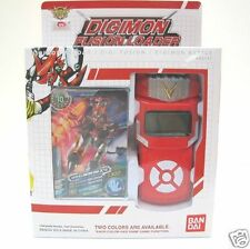 Bandai Digimon Xros Wars RED Fusion Loader ENGLISH Digivice Data Link Neo